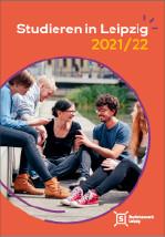 Titelseite der Broschüre Studieren in Leipzig 21/22